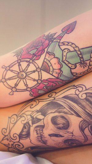 Tattooed Legs